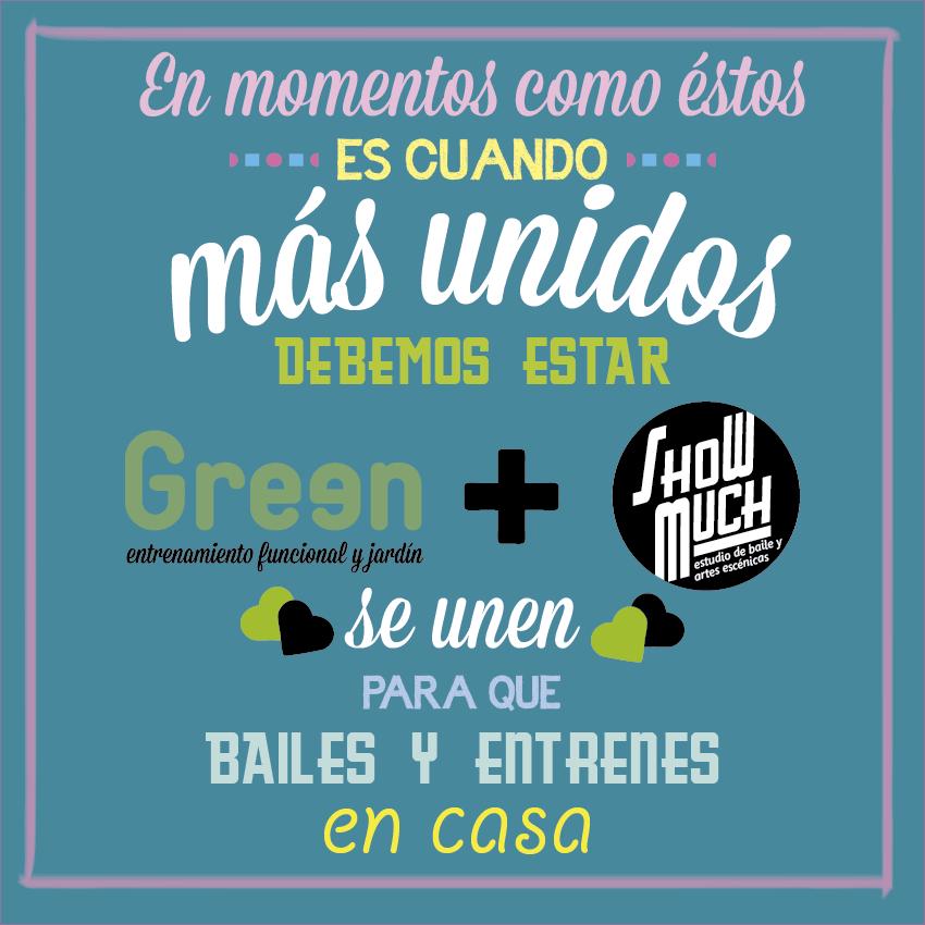 Green y Show Much se unen