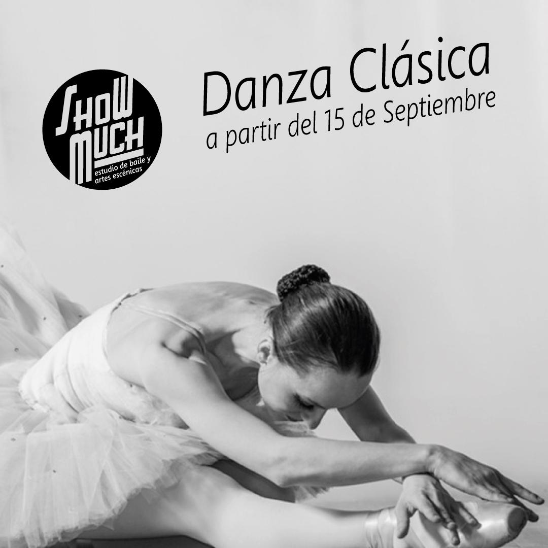Nueva clase: Danza Clásica